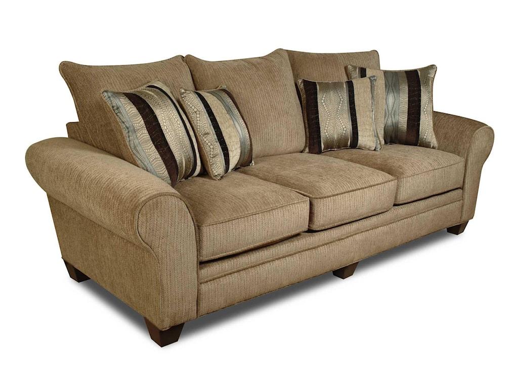 American Furniture 3700Upholstered Stationary Sofa
