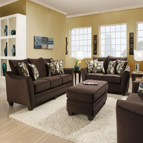 American Furniture 3810 LSF Corner Sofa