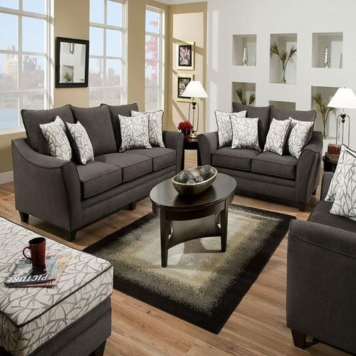 American Furniture 3850 Chair and a Half with Casual Look