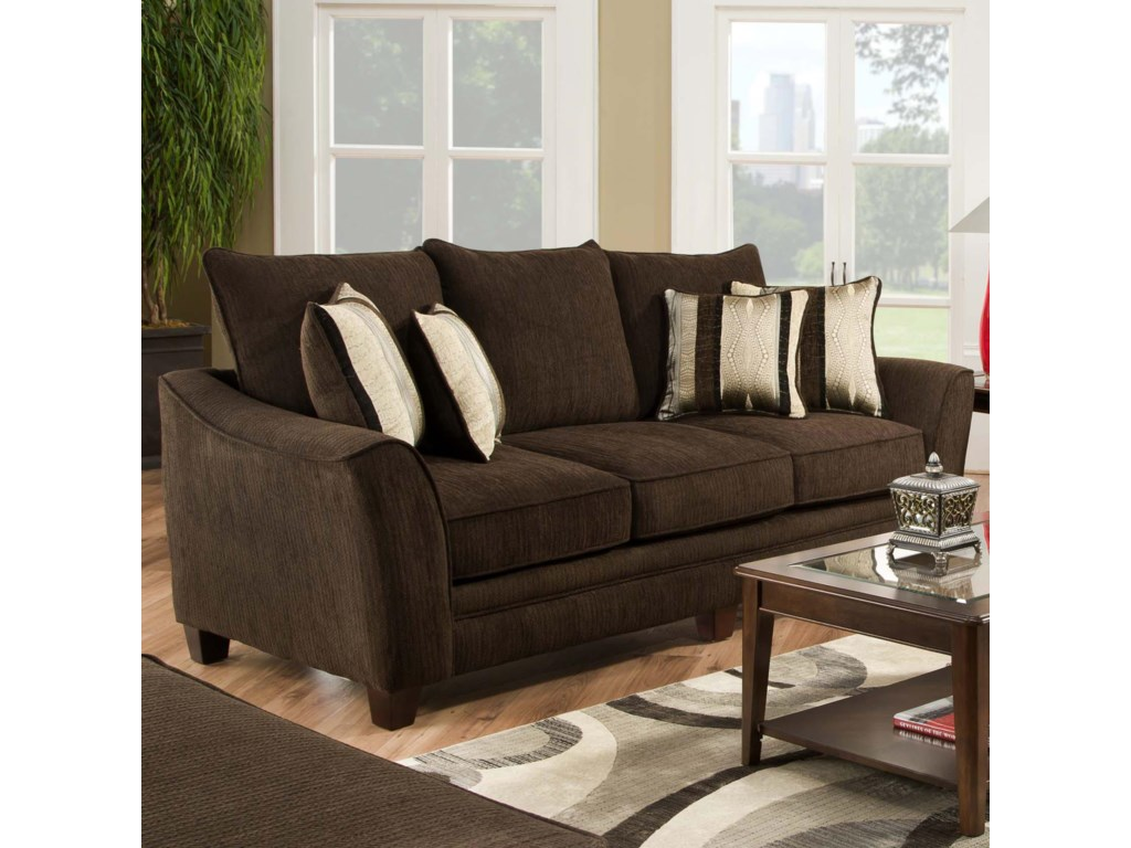 American Furniture 3850Sleeper Sofa (Mattress Not Included)