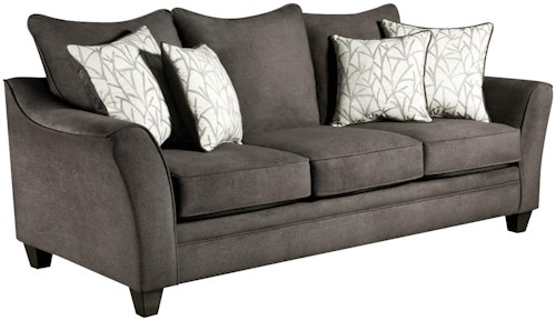American Furniture 3850 Sleeper Sofa (Mattress Not Included)