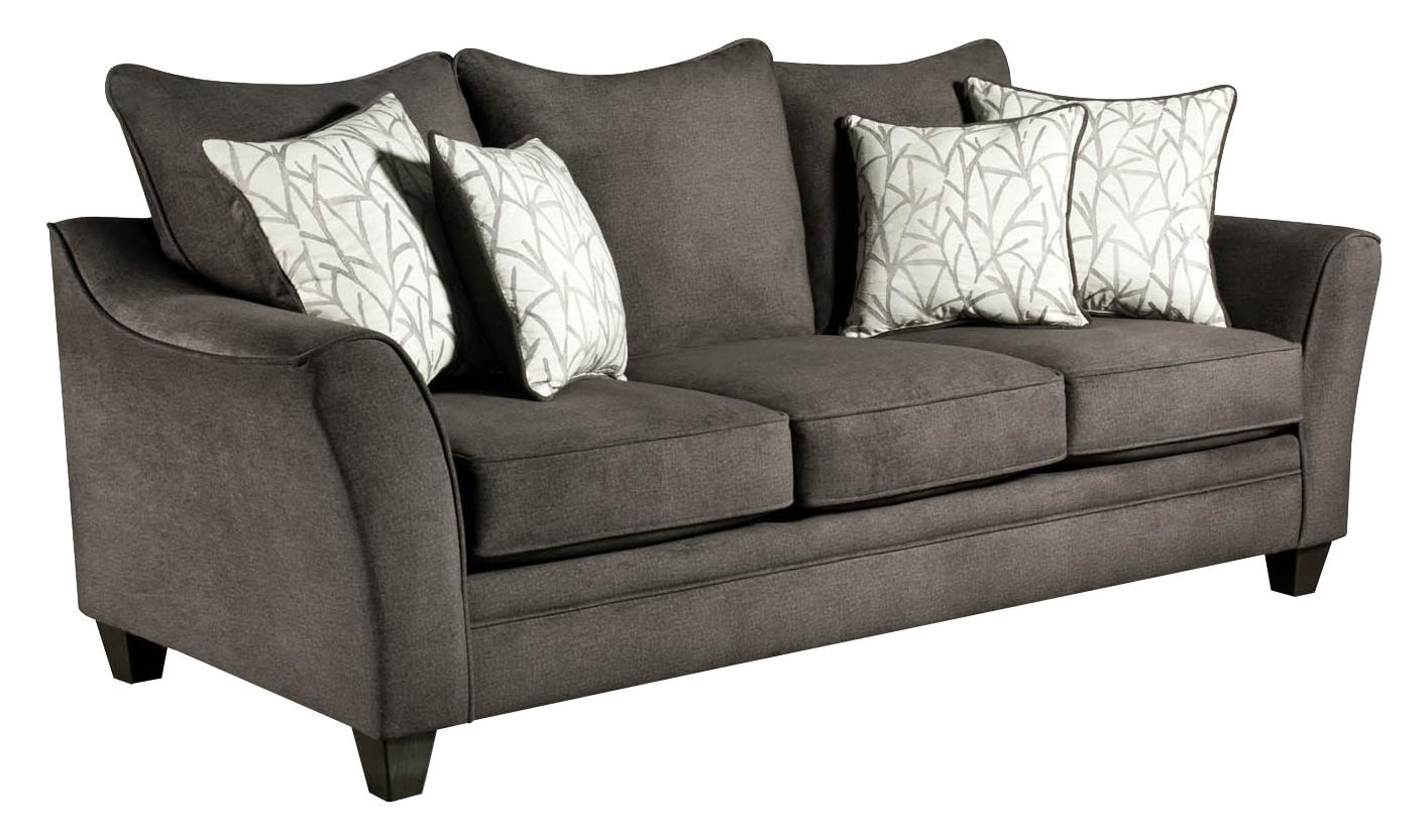 American Furniture 3850 Elegant Sofa With Contemporary Style   Royal  Furniture   Sofas