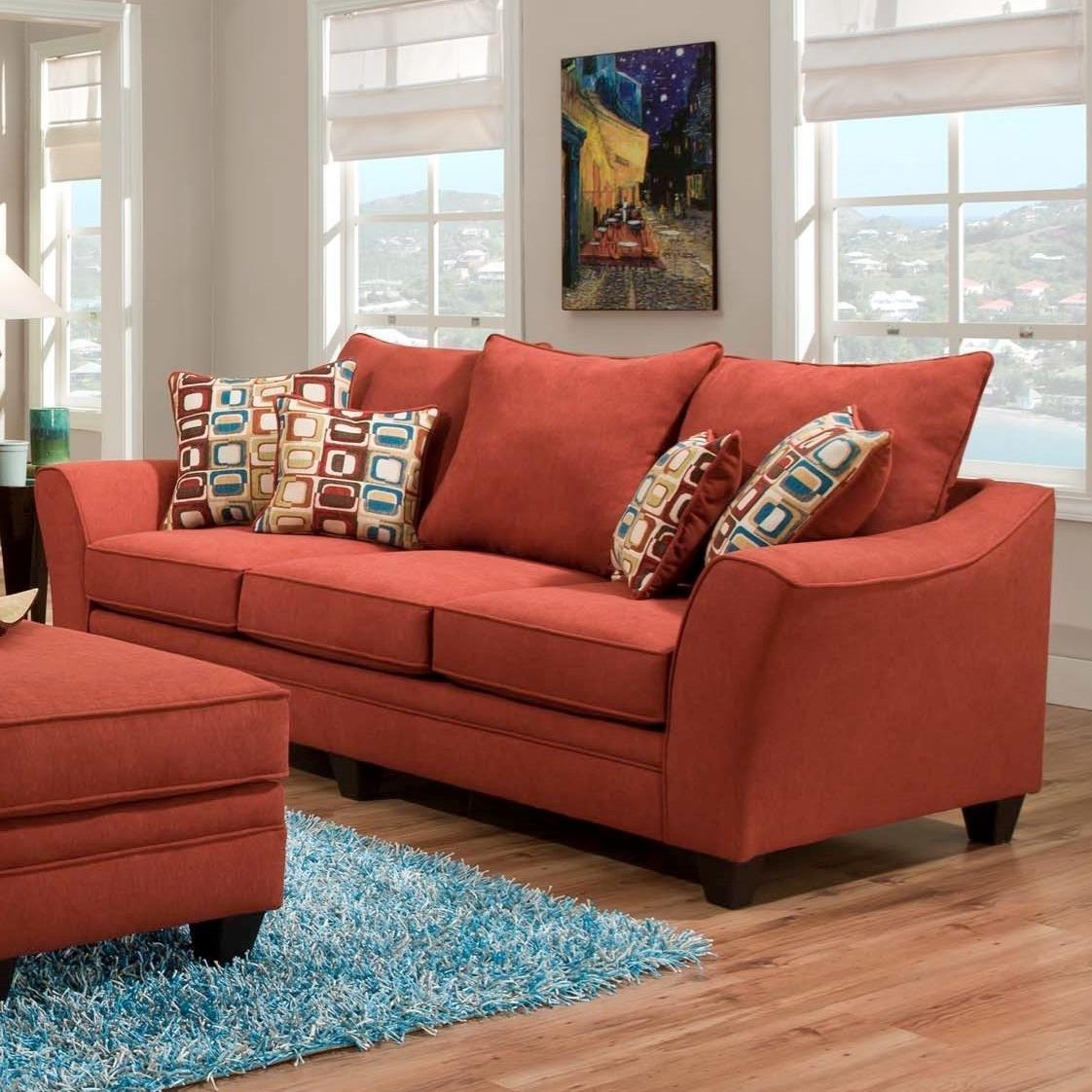 American Furniture 3850Sleeper Sofa (Mattress Not Included) ...