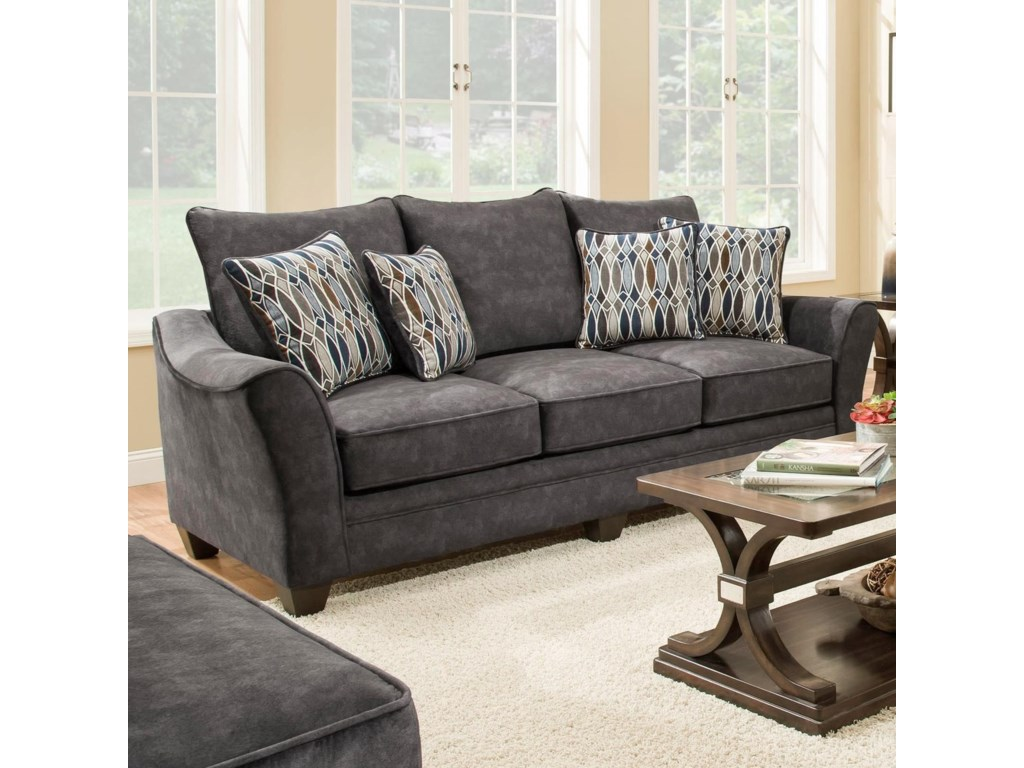 American Furniture 3850Sleeper Sofa (Mattress Not Included)