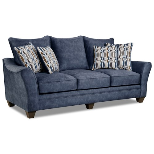 American Furniture 3850 Elegant Sofa with Contemporary Style