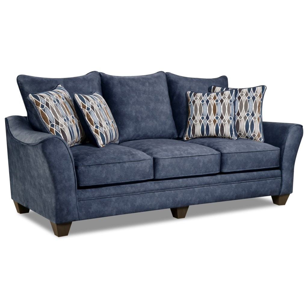 American Furniture 3850 Elegant Sofa With Contemporary Style Prime