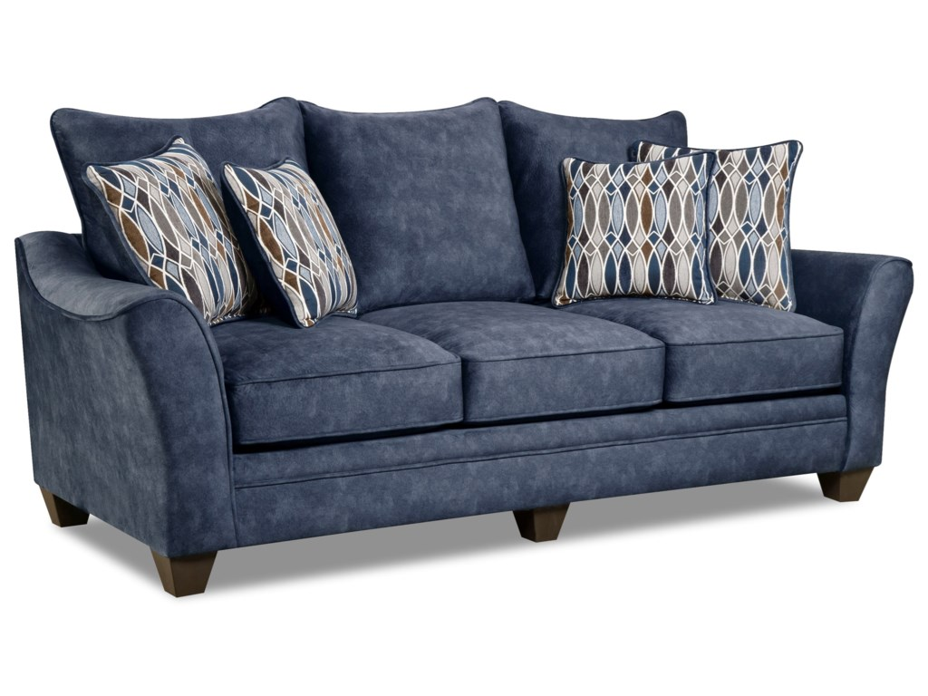 American Sofas Sofa With Casual Style 3100 By American Furniture Wil Thesofa