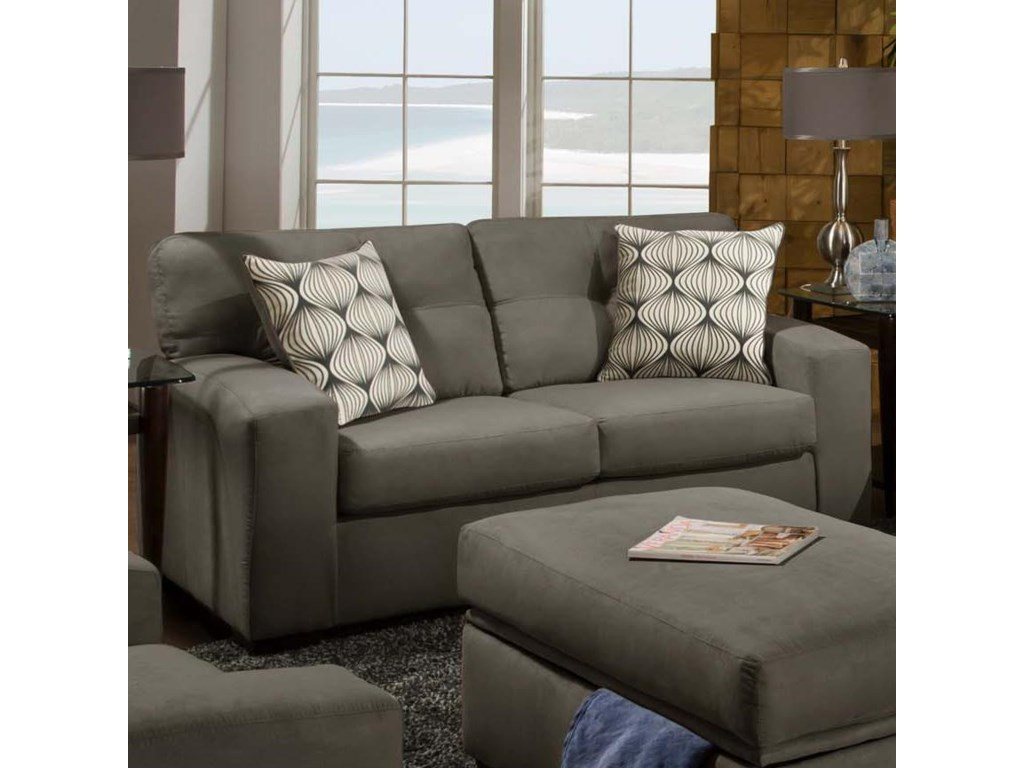 Furniture upholstery group bay city saginaw - American Furniture 5100 Group Two Person Loveseat With Soft Urban Style Prime Brothers Furniture Love Seat