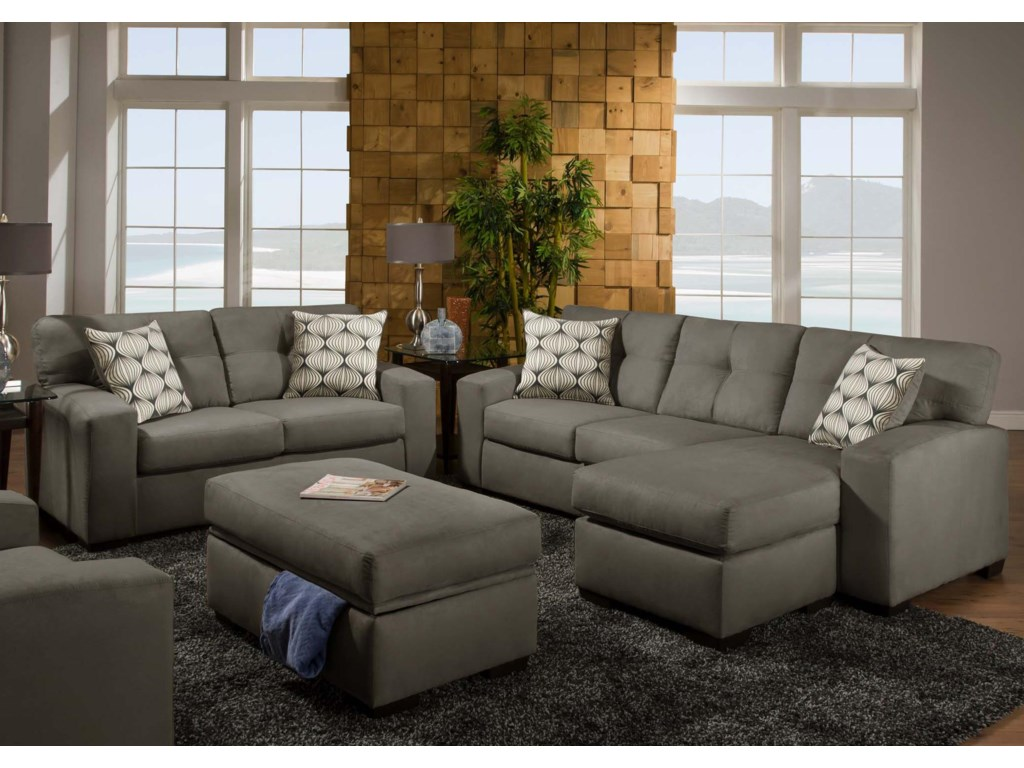 Furniture upholstery group bay city saginaw - Shown In Victory Lane Dolphin Upholstery Has A Neutral Gray Tone That Works Well With Contemporary Styles