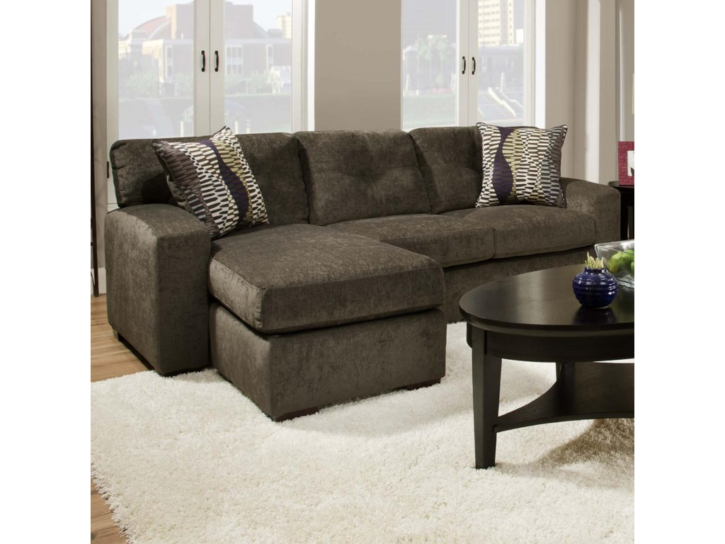 American Furniture 5100 Group Small Sectional Sofa With Chaise
