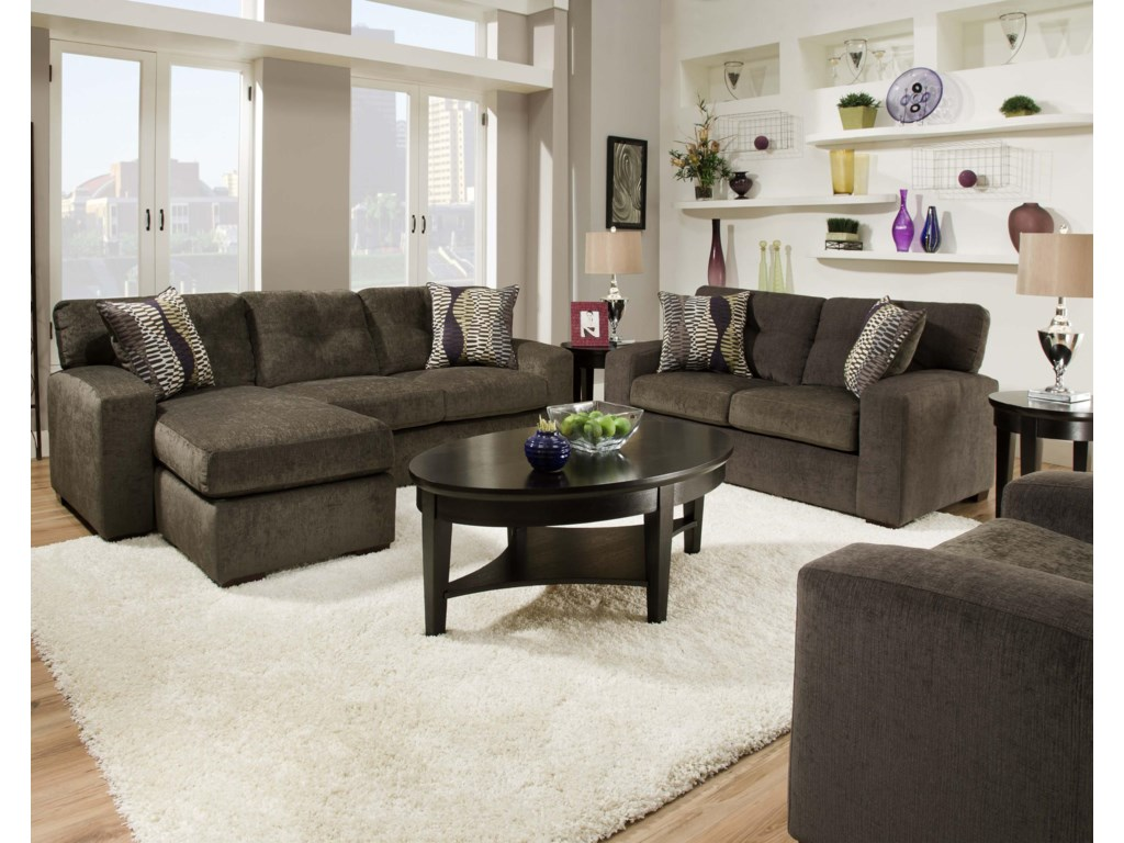 Shown with Coordinating Collection Loveseat. Chair Shown Right Corner.