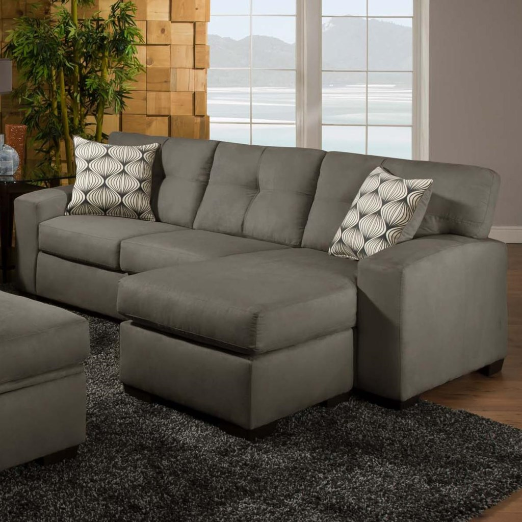American Furniture 5100 Group Small Sectional Sofa With Chaise  ~ Sofa With Chaise Ottoman