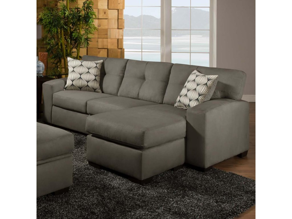 American Furniture 5100 Group Small Sectional Sofa with Chaise ...