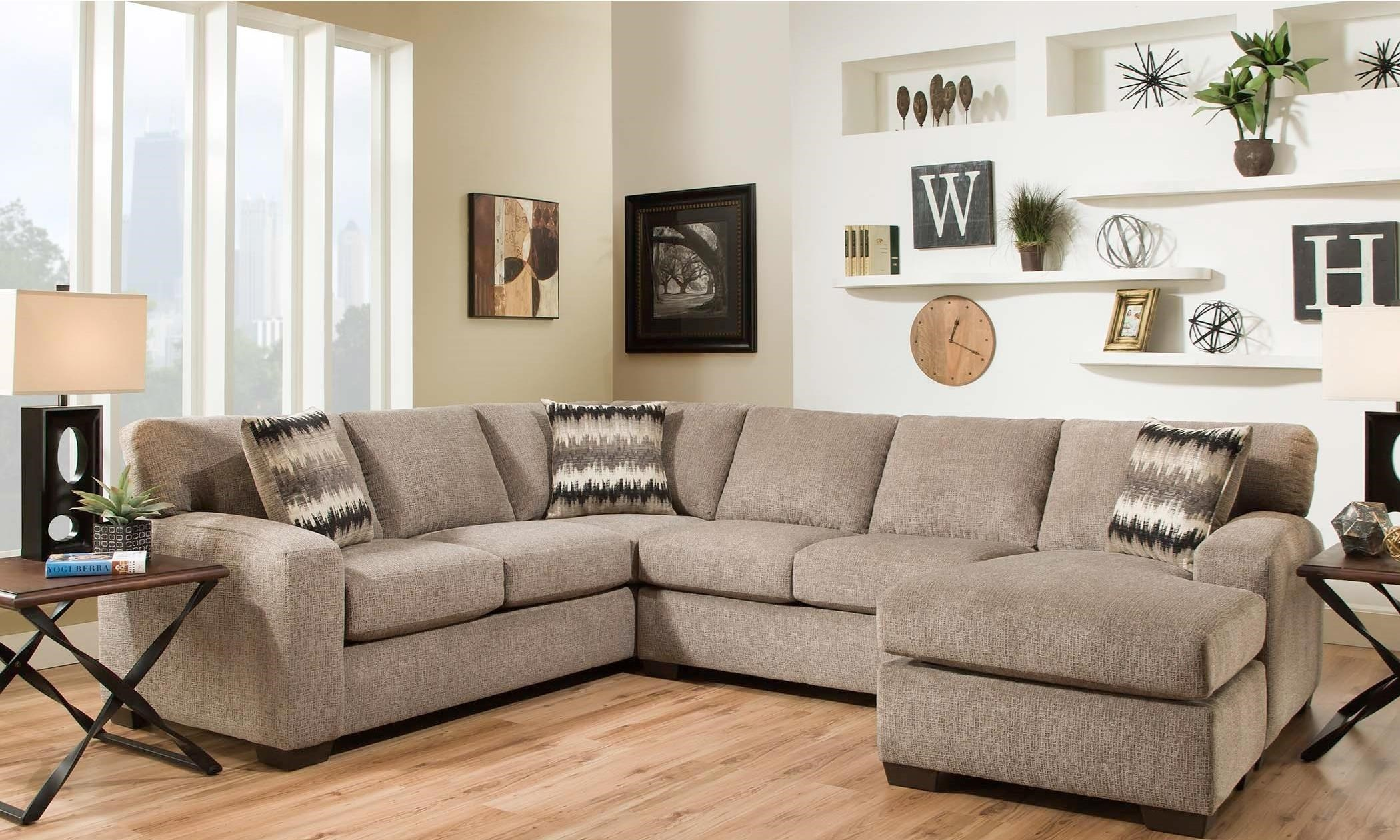American Furniture 5250 Sectional Sofa - Seats 5  sc 1 st  Wilcox Furniture : american furniture sectional - Sectionals, Sofas & Couches