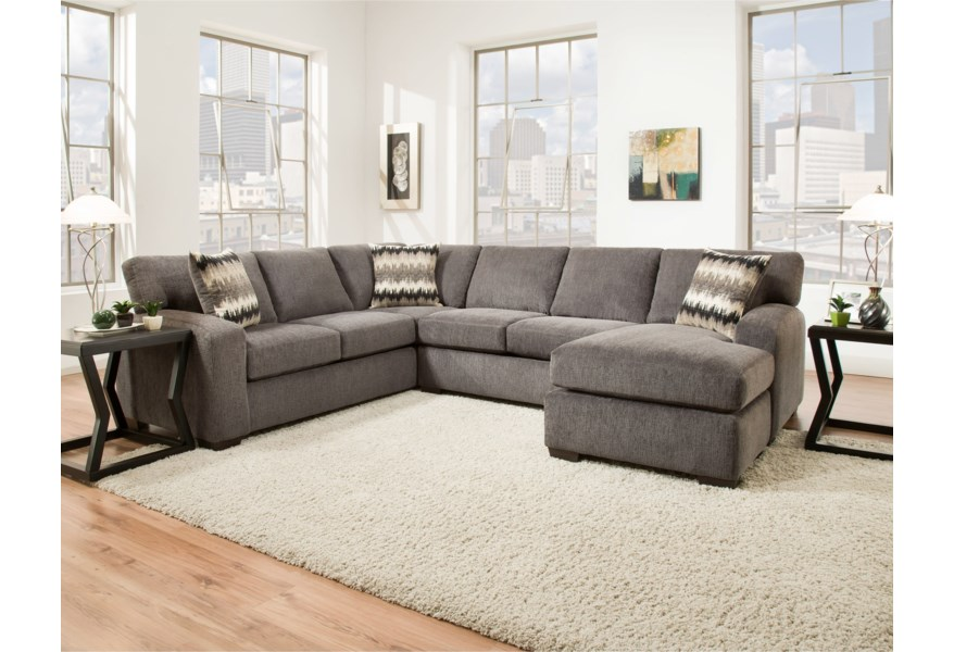Peak Living 5250 Sectional Sofa Seats