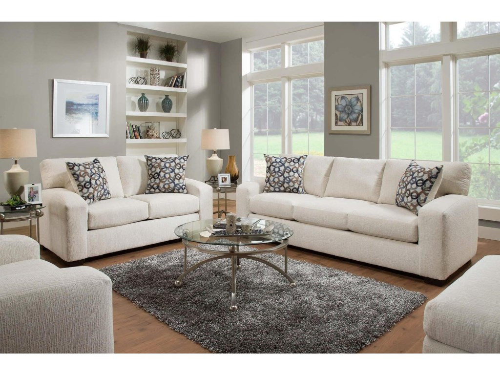 Furniture upholstery group bay city saginaw - American Furniture 5250 Living Room Group Prime Brothers Furniture Stationary Living Room Groups