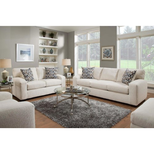 American Furniture 5250 Living Room Group