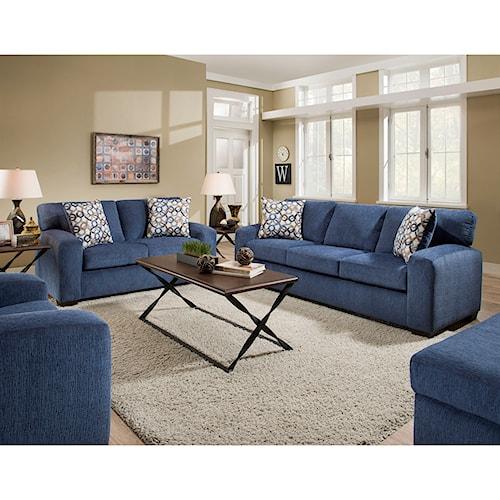 American Furniture 5250 Living Room Group