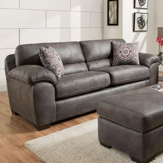 American Furniture 5407 Casual Contemporary Sofa