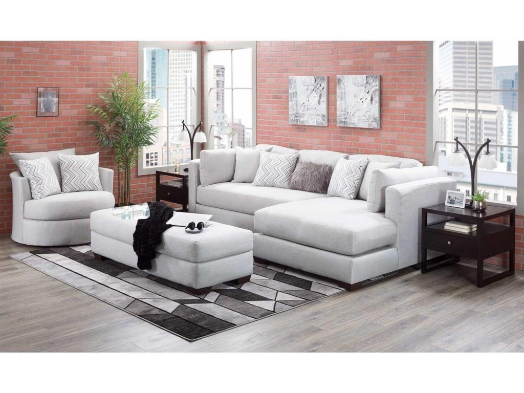 American Furniture 5500Chaise-Inspired Sectional Sofa