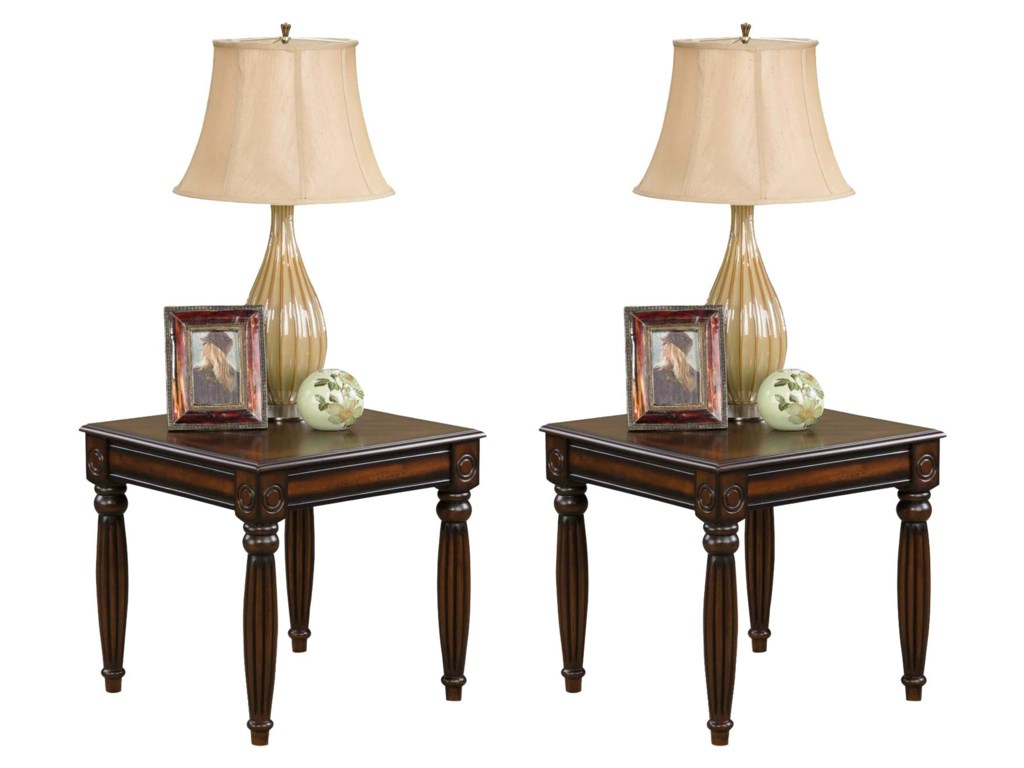 American Furniture 565 Tables2 Pack End Table