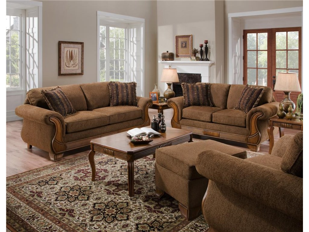 American Furniture 570T3 Pack Occasional Tables