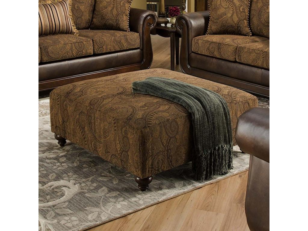 American Furniture 5850Cocktail Ottoman
