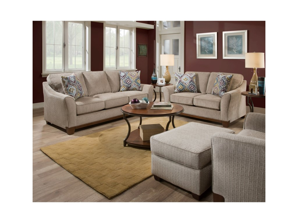 American Furniture 6150Loveseat