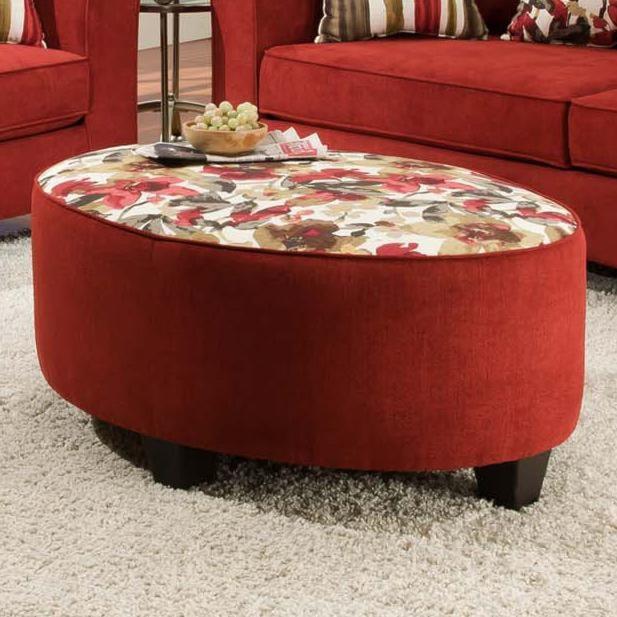 American Furniture 6300 Ottoman