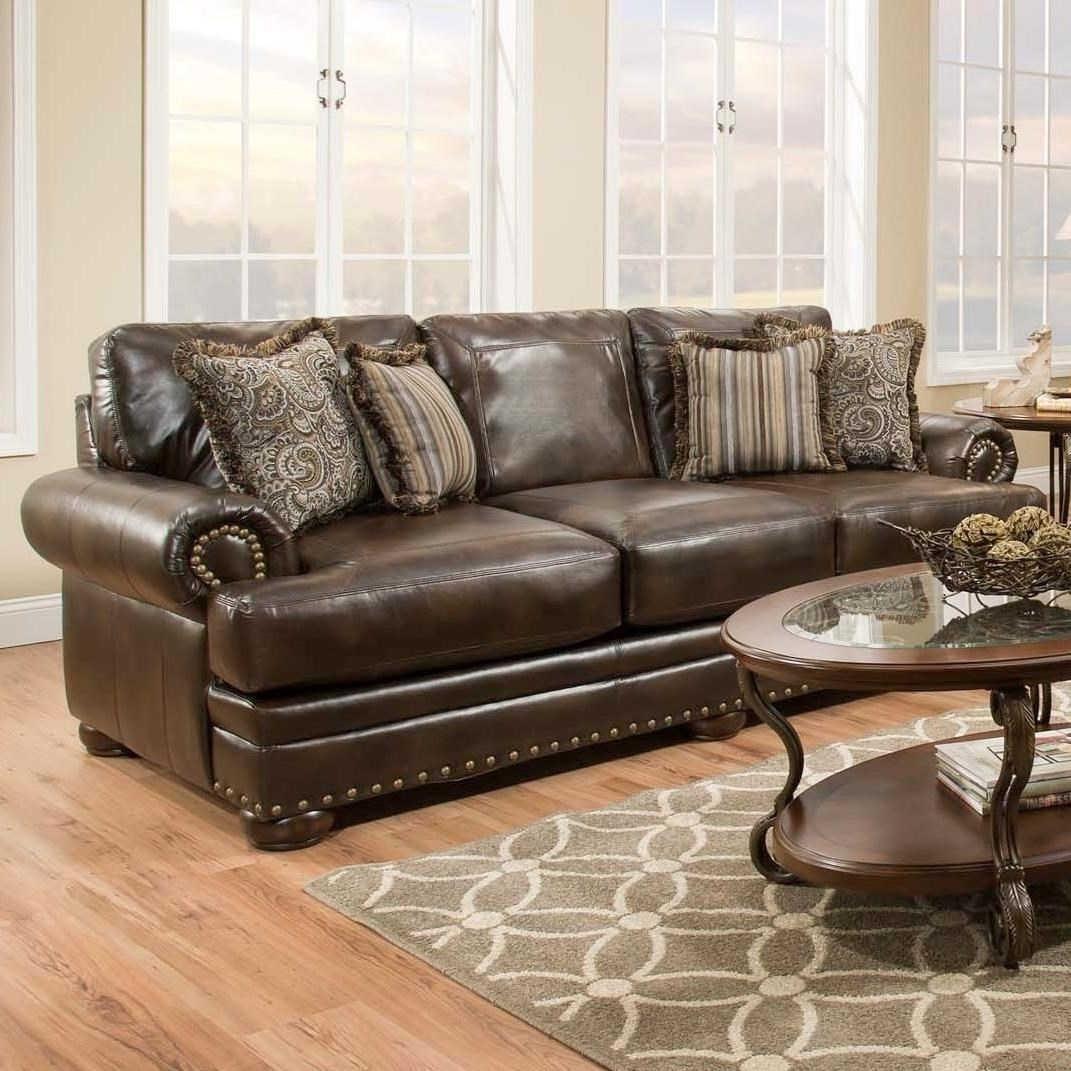 American Furniture 6400Sofa With Traditional Style ...