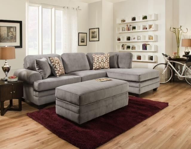 American Furniture 7000Storage Ottoman