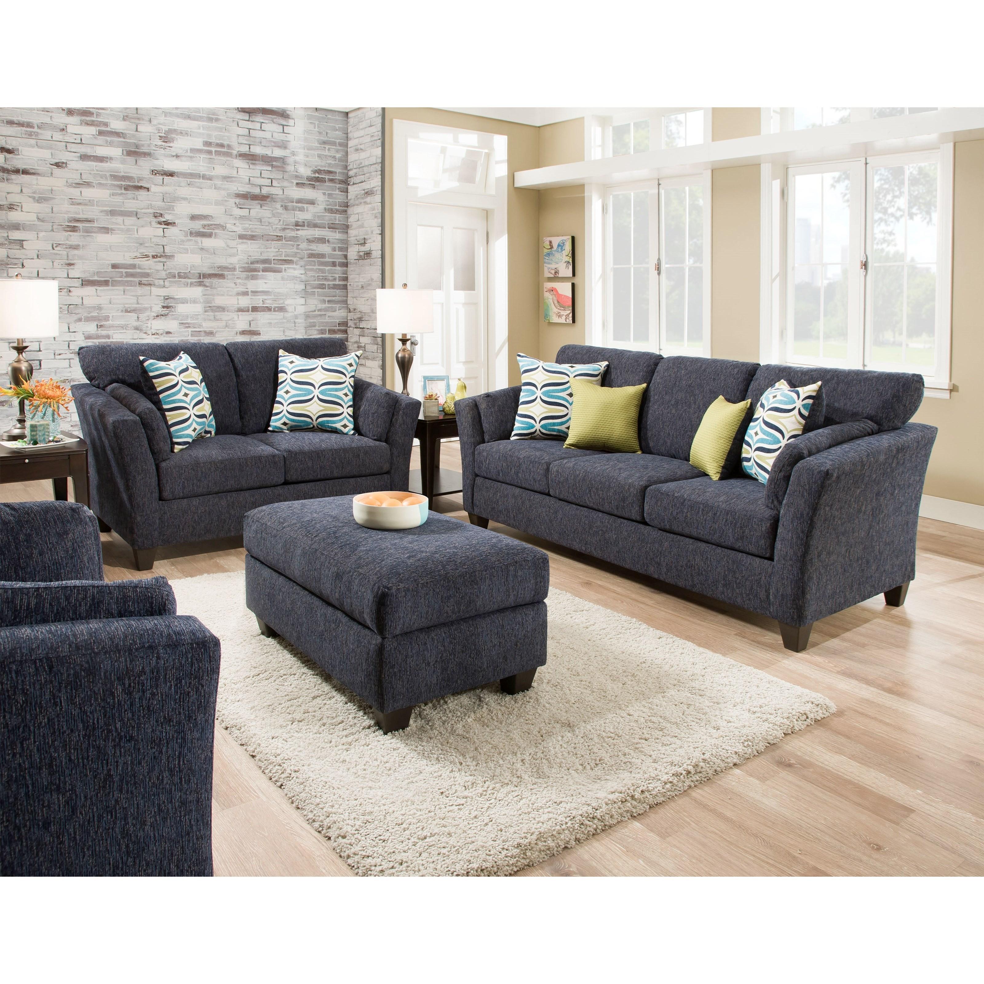 american furniture living room group