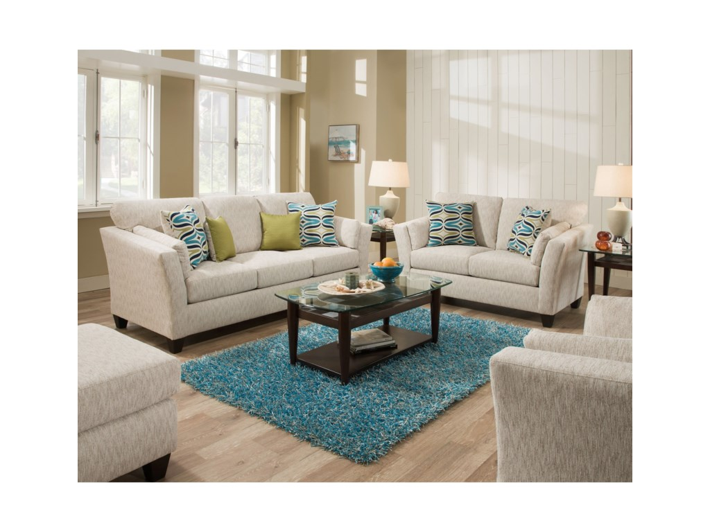 American Furniture 7300Living Room Group