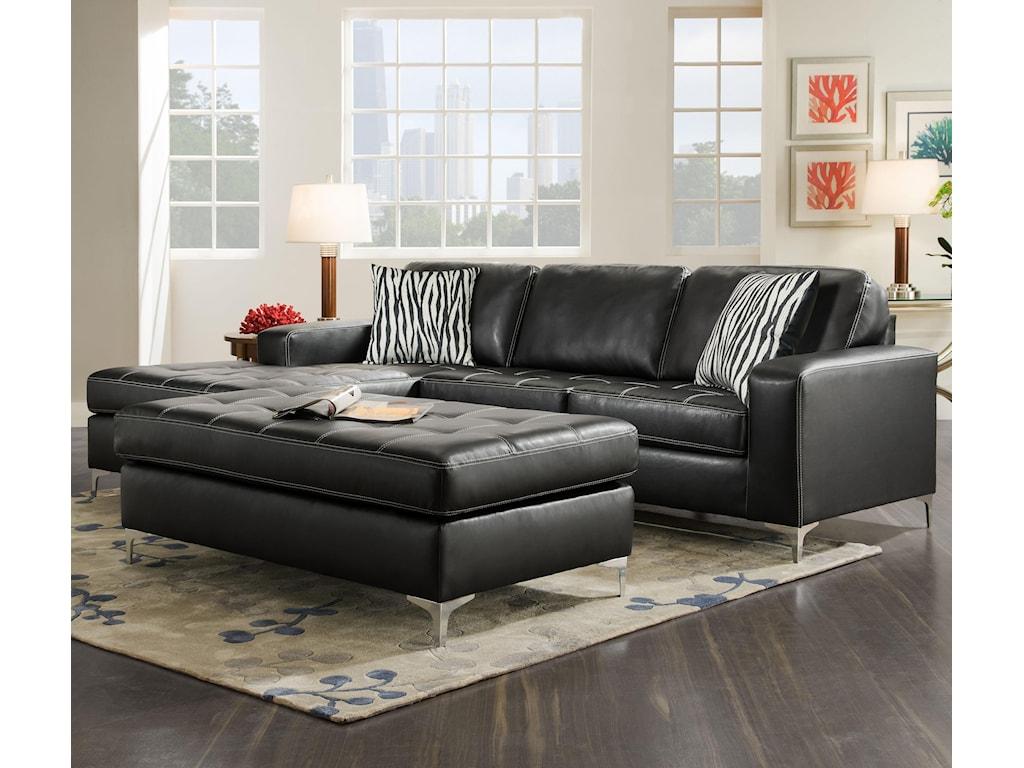 American Furniture 7400Ottoman