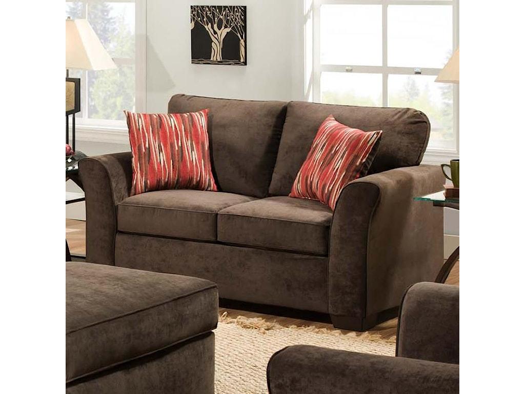 American Furniture 7670Loveseat