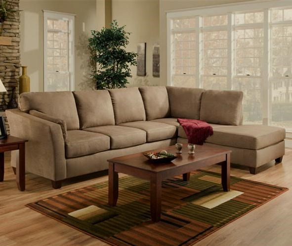 American Furniture 7900L Shaped Upholstered Stationary Sectional