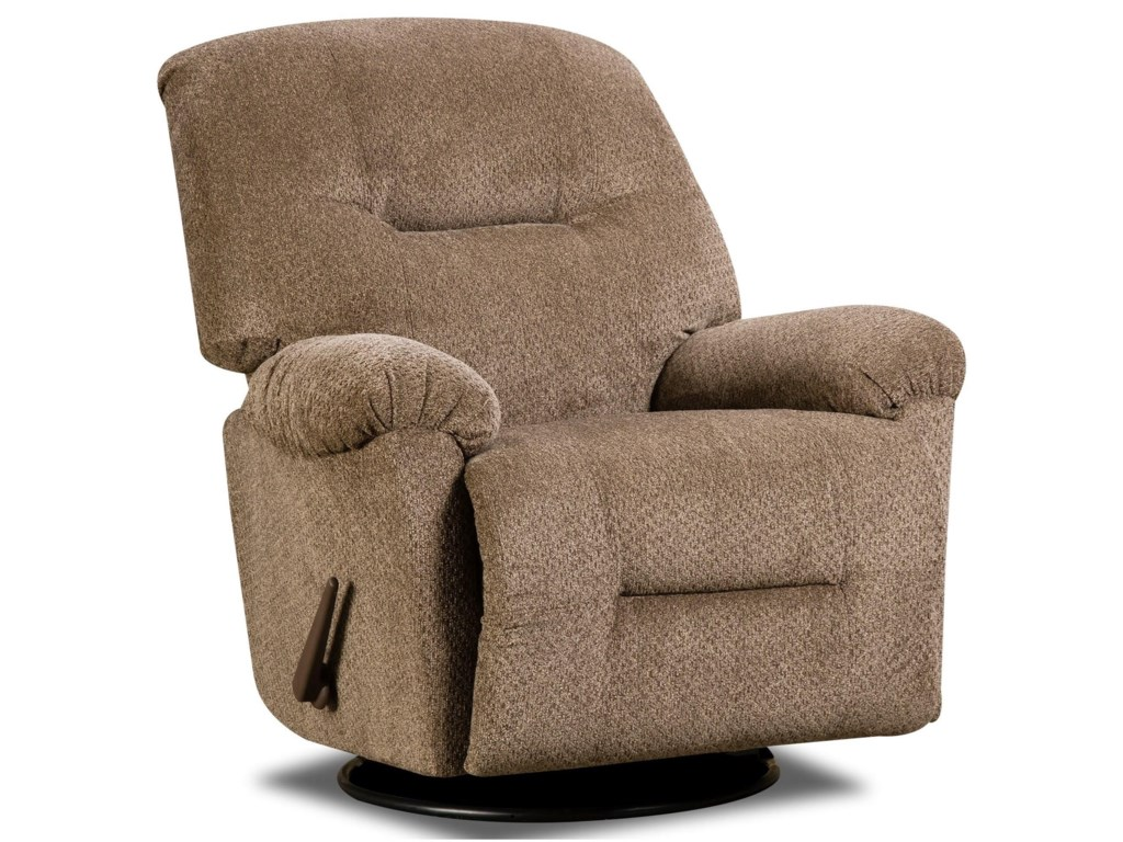 American Furniture 9355Swivel Rocker Recliner