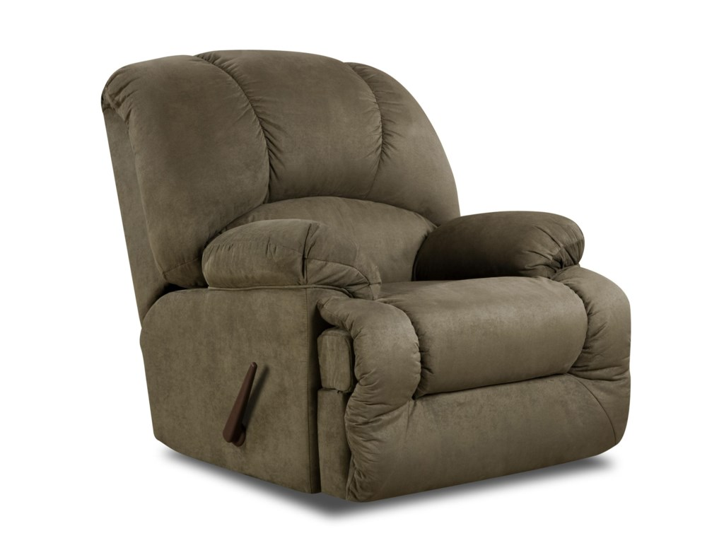 American Furniture 9700 Chaise Rocker Recliner