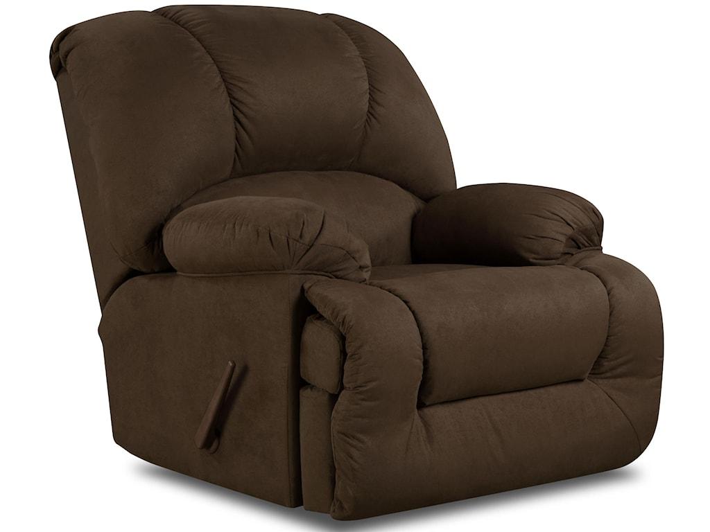 American Furniture 9700Chaise Rocker Recliner