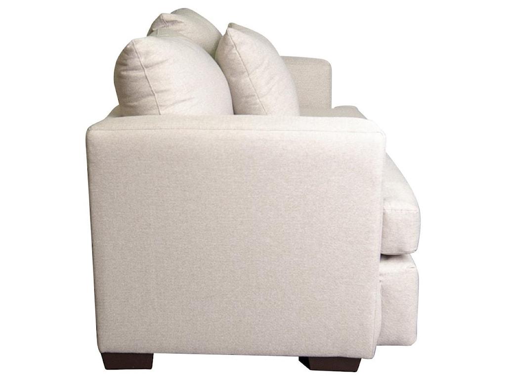 Peak Living AdenaAdena Loveseat with Accent Pillow