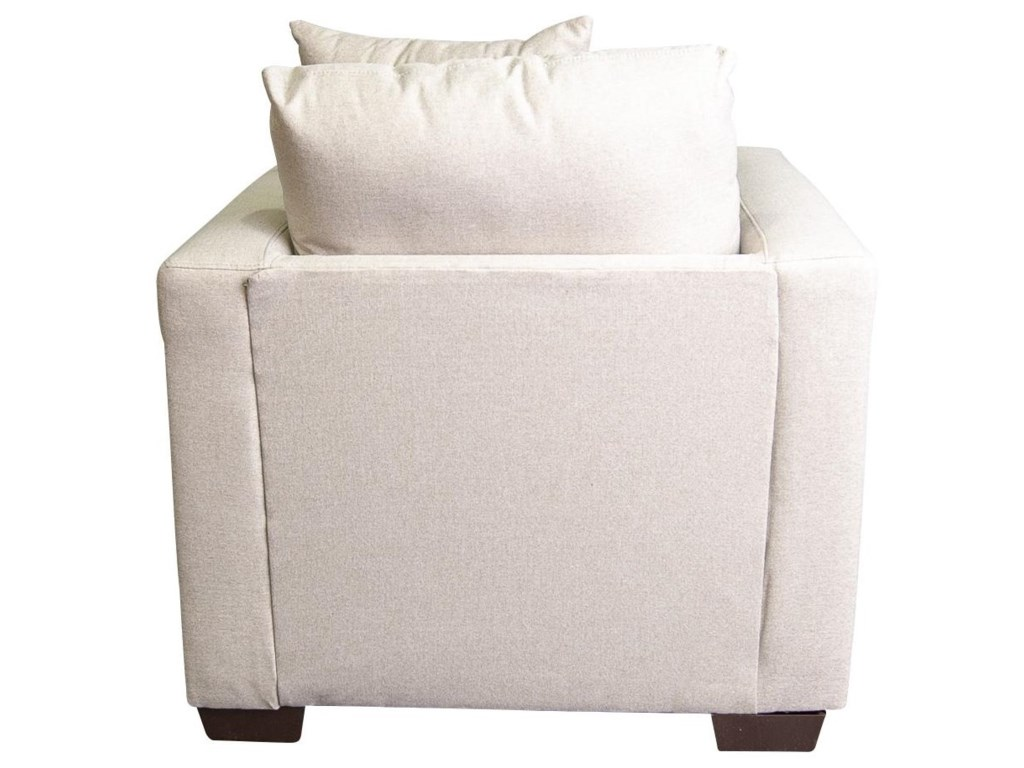 Peak Living AdenaAdena Chair with Accent Pillow