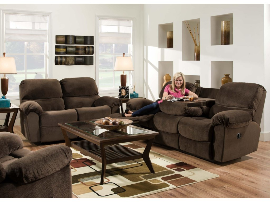 American Furniture AF310Power Reclining Sofa