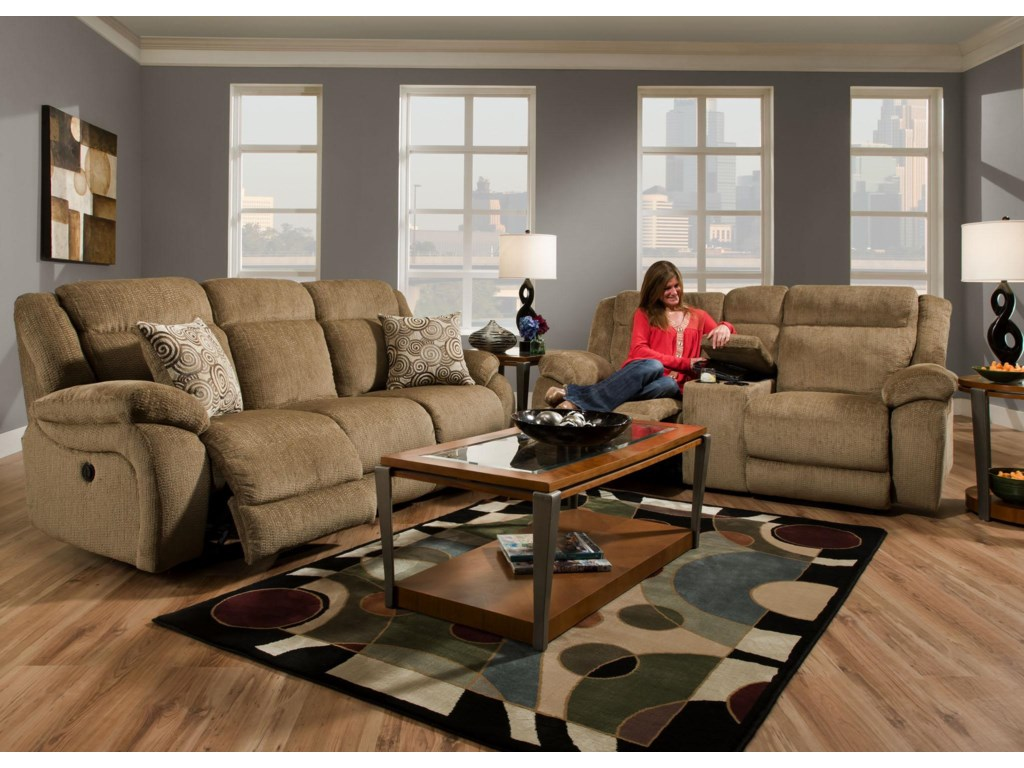 American Furniture AF330Power Reclining Loveseat