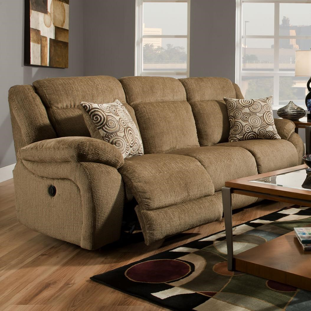 Superieur American Furniture AF330 Power Reclining Sofa With 3 Seats (2 Reclining)