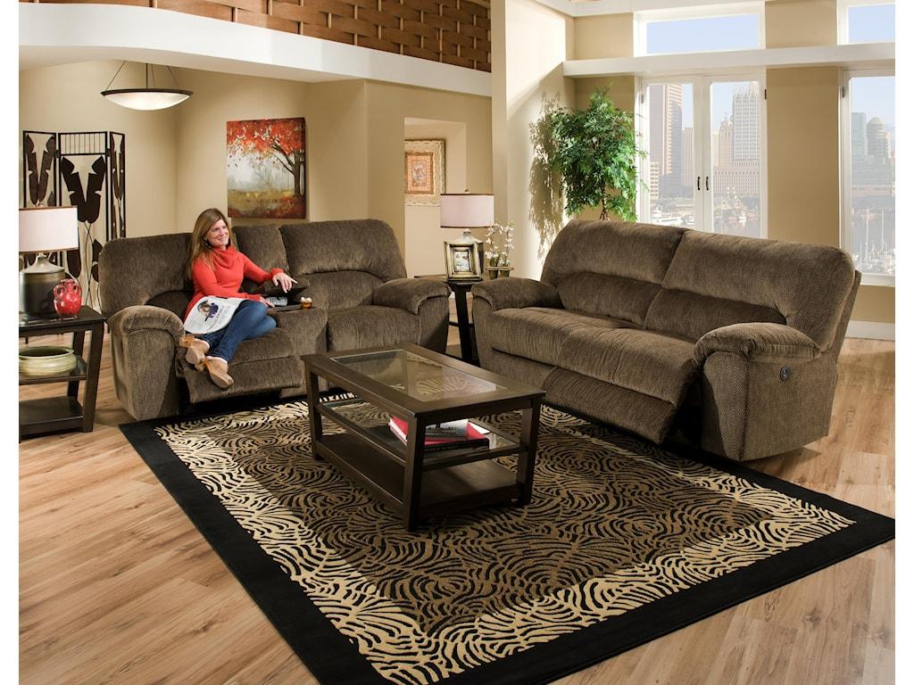 American Furniture AF740Reclining Sofa