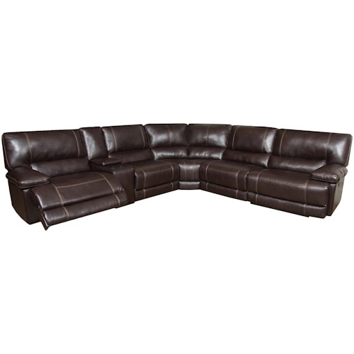 Reclining Sectional Sofa (Seats 5) - AF800 by American Furniture ...