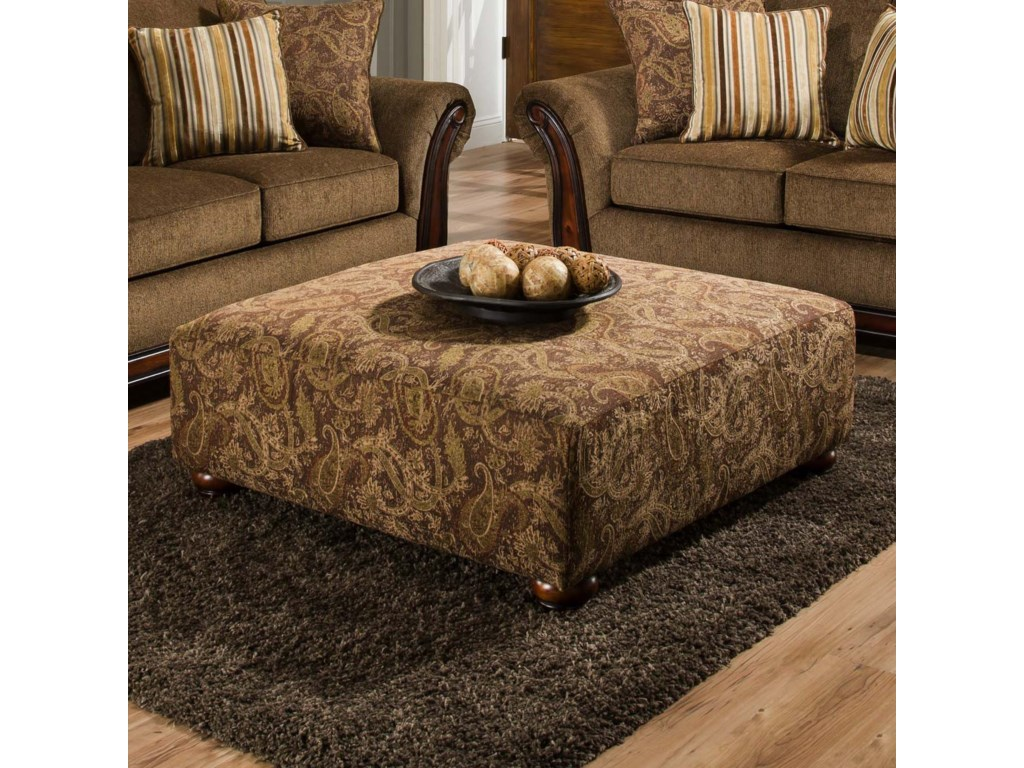 American Furniture 5650Cocktail Ottoman
