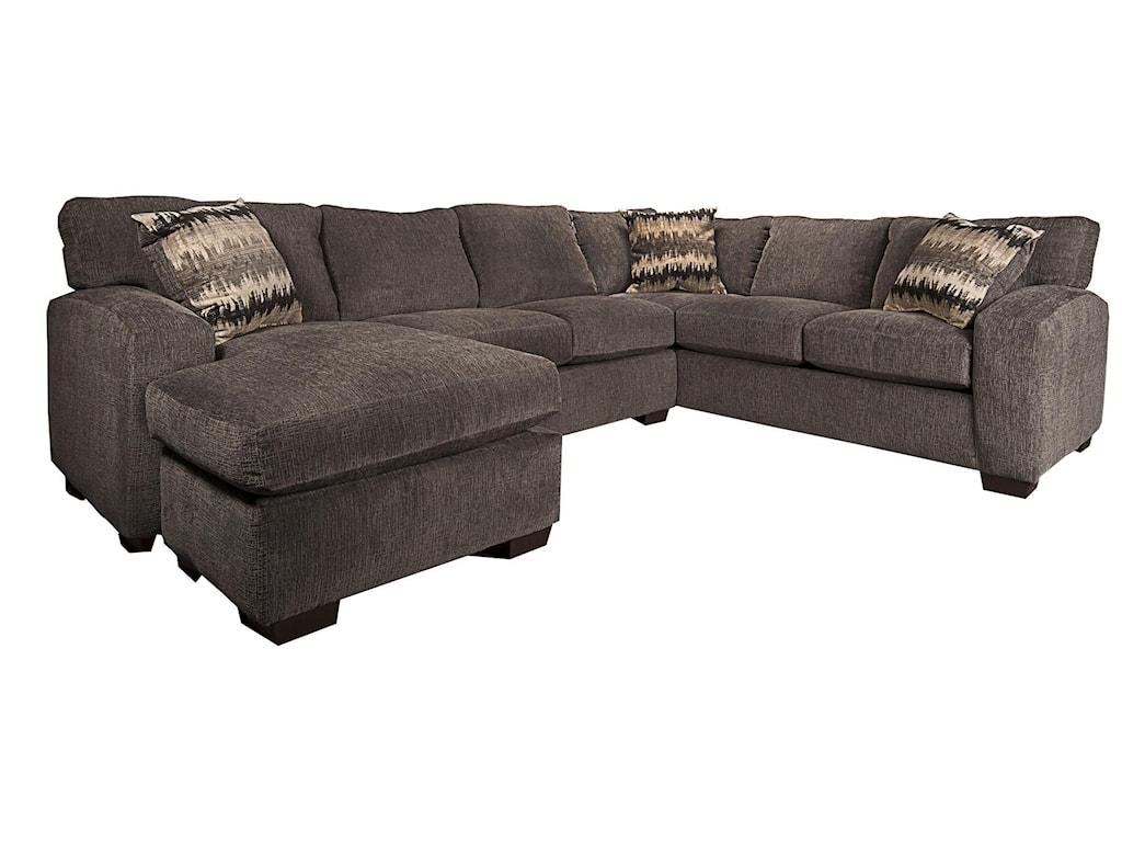 Morris Home Furnishings CyndelCyndel Sectional Sofa
