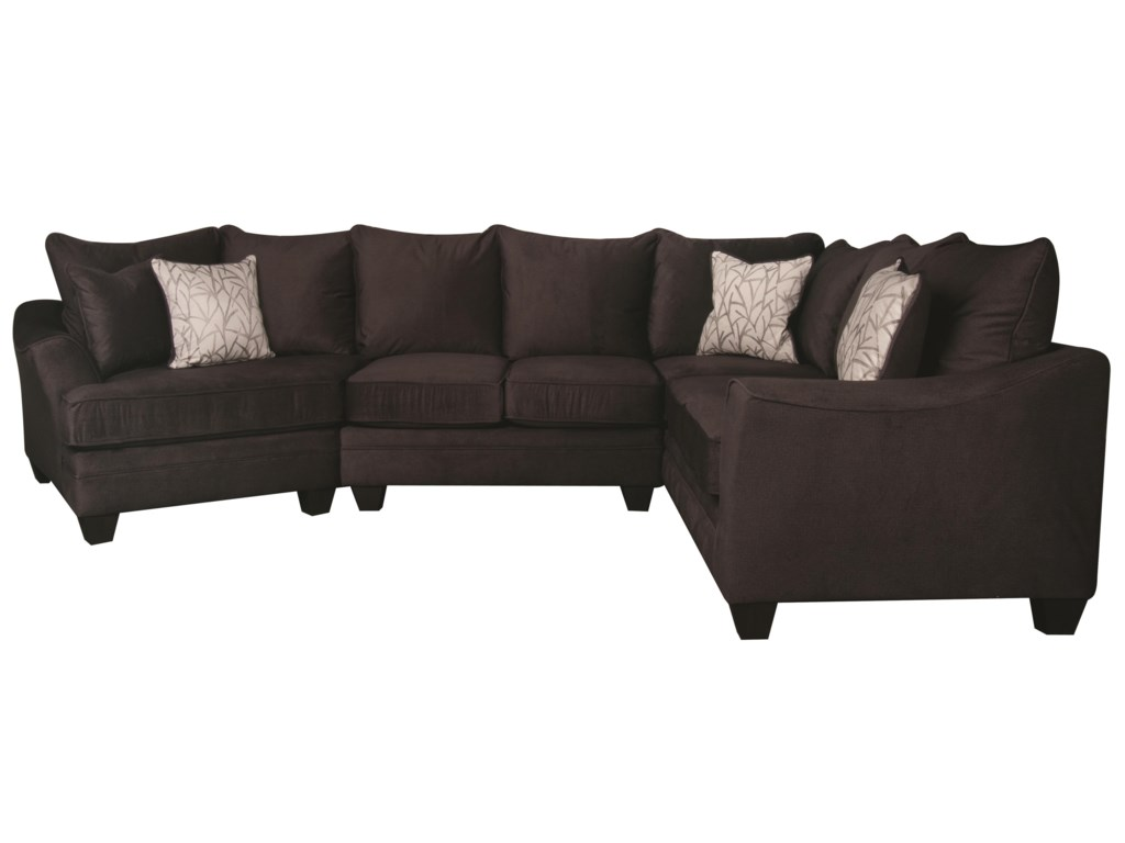 Morris Home Furnishings RachelRachel Sectional Sofa