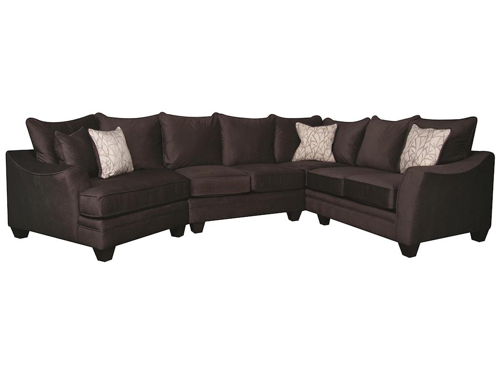 Morris Home Furnishings RachelRachel Sectional Sofa